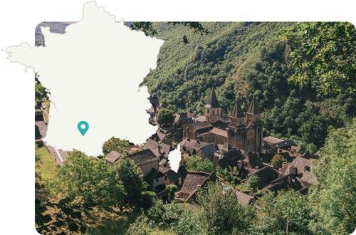 Toulouse et l'Aveyron, France