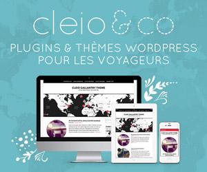 Cleio&Co, plugins et thèmes WordPress pour voyage