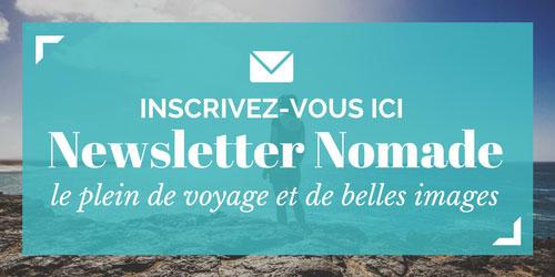 S'inscrire à la Newsletter Nomade