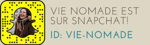 Vie Nomade sur Snapchat