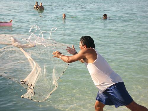 Pêche à la Sardine, Isla Mujeres