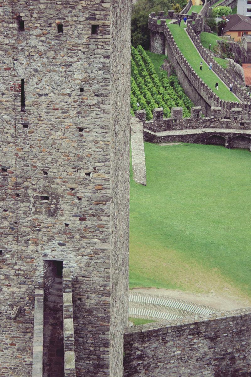 Château de Bellinzona, Suisse