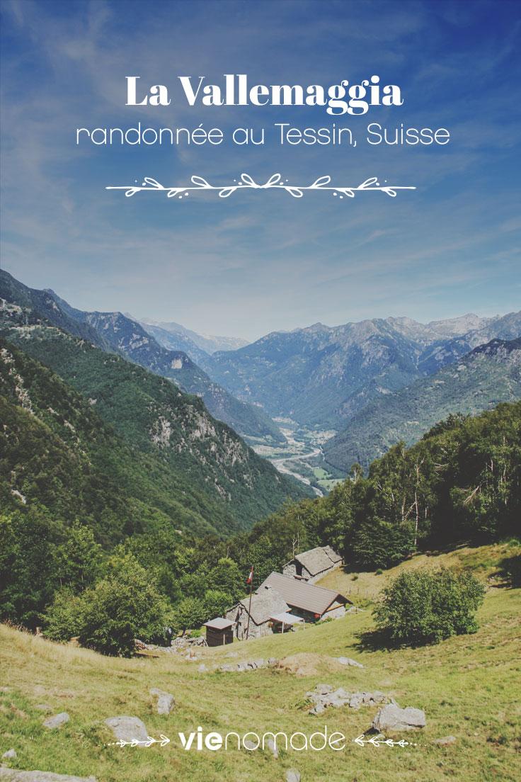 Randonnée dans la Vallemaggia au Tessin, Suisse