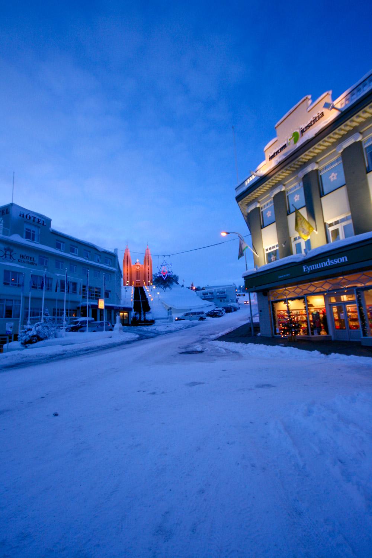 Akureyri, Islande