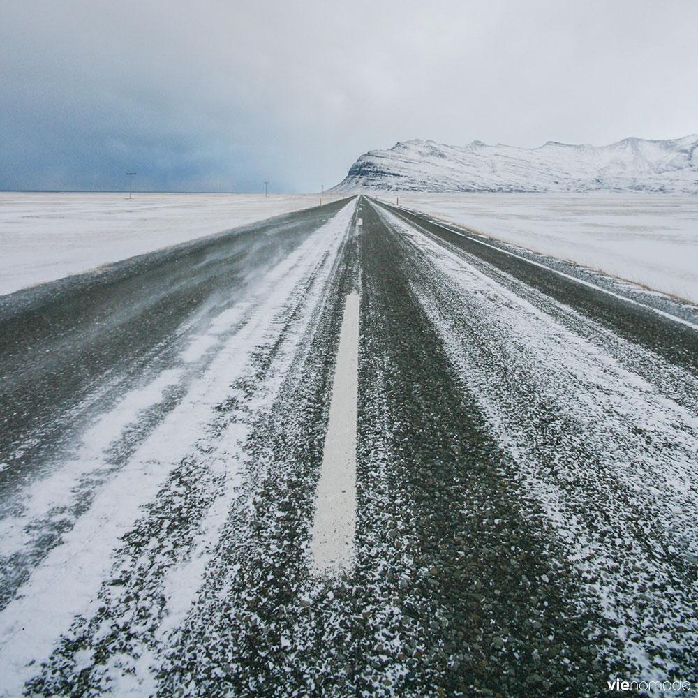 Routes en Islande: un road trip en hiver