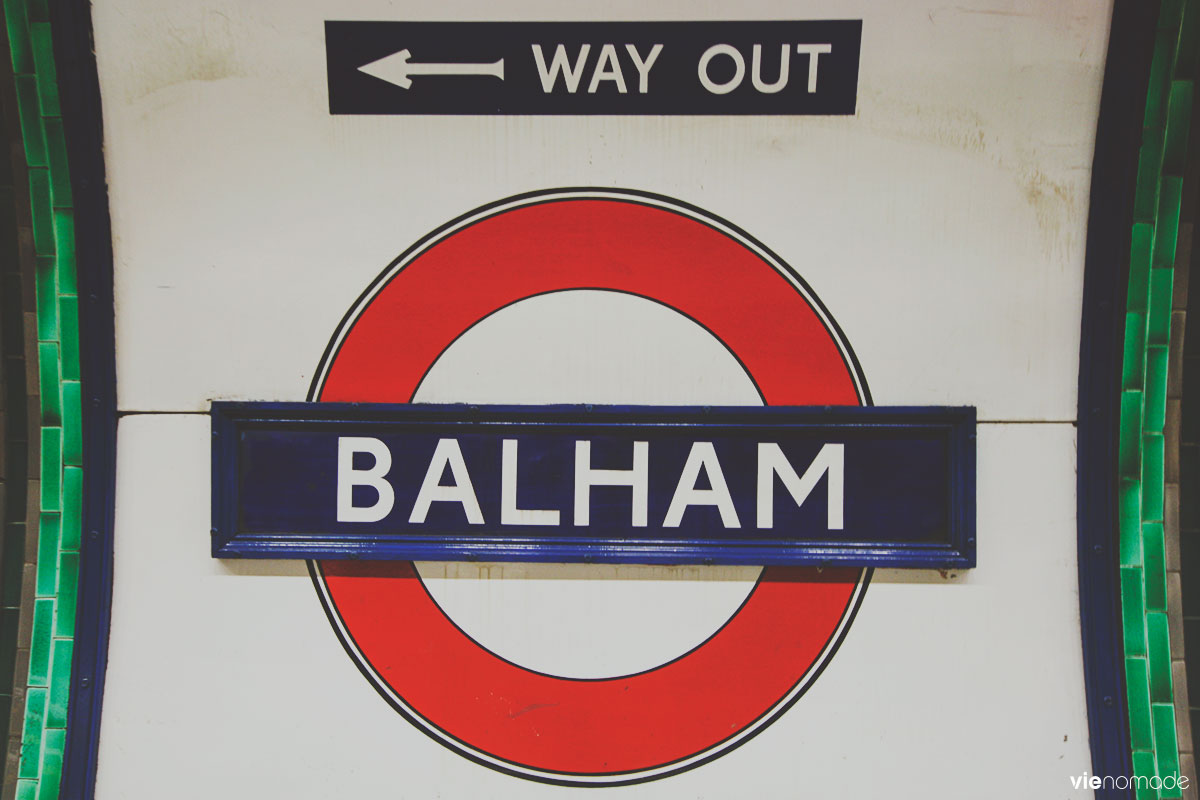 Le métro ou tube de Londres