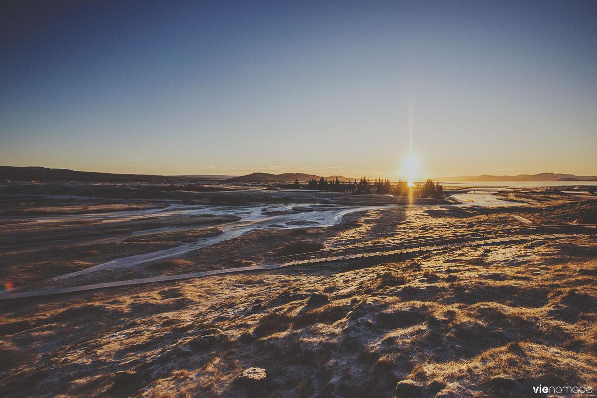 Thingvellir, Islande en hiver