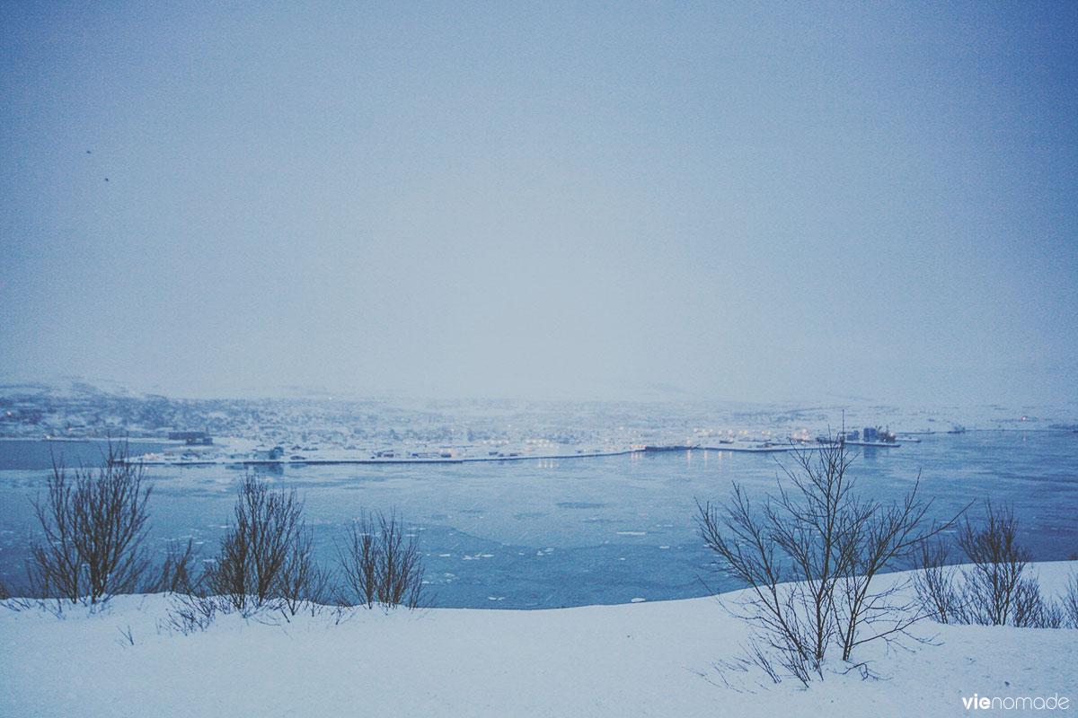 Akureyri en hiver, road trip islandais