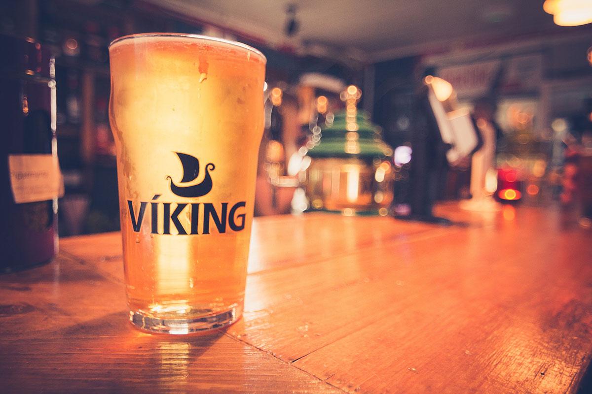 Bière Viking, Islande