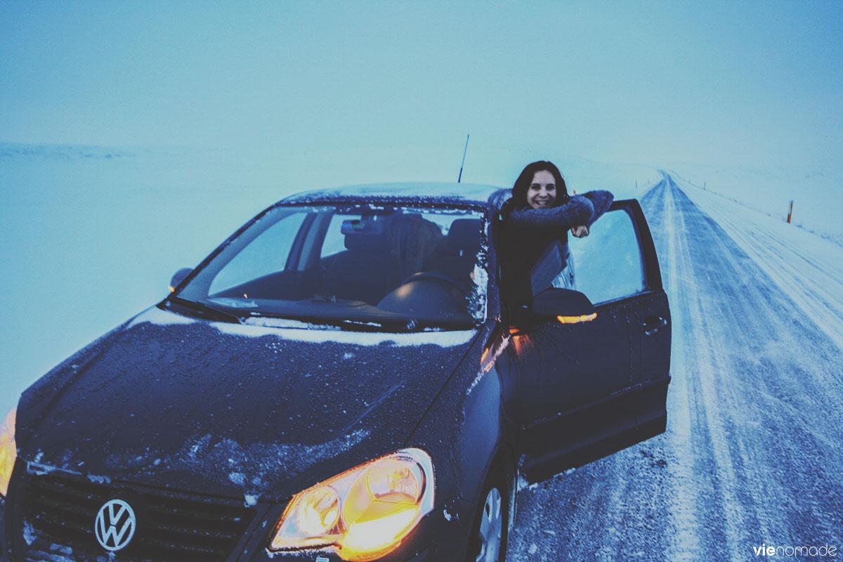 Road trip en Islande en hiver: le nord