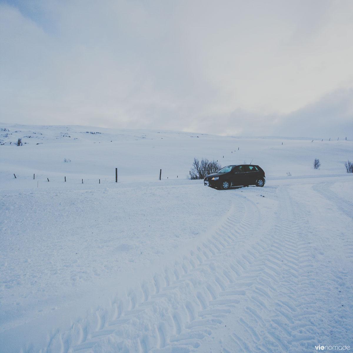 Road trip en hiver en Islande