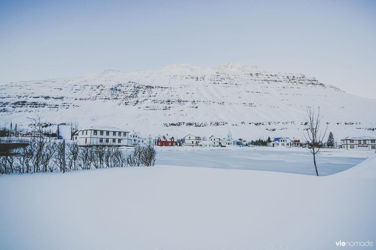 Seydisfjordur en hiver