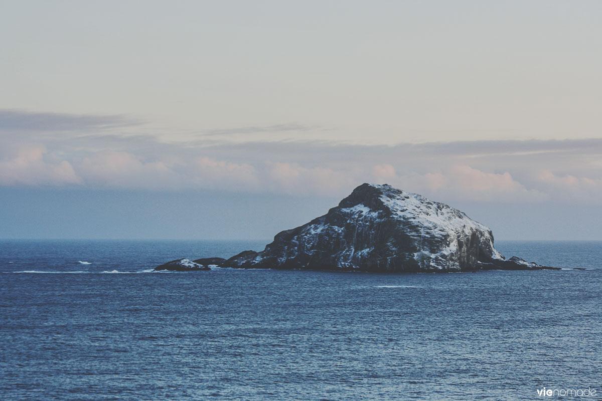 Île de Skrudur en Islande