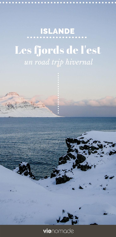 Road trip en Islande en hiver: les fjords de l'est