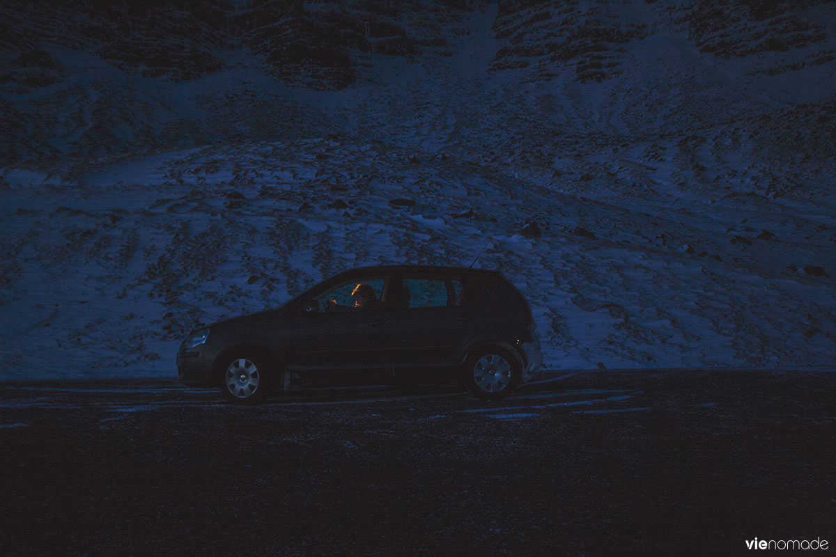 Un road trip en Islande, en hiver