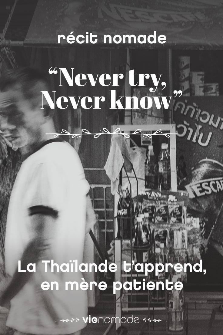 Renaître, un voyage en Thaïlande pour apprendre