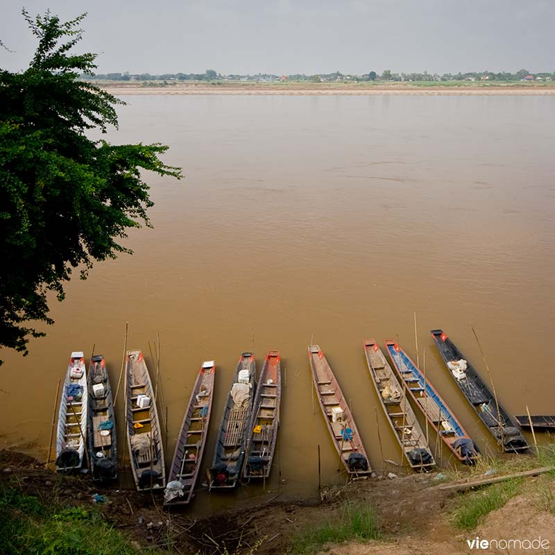 Le Mékong, Laos