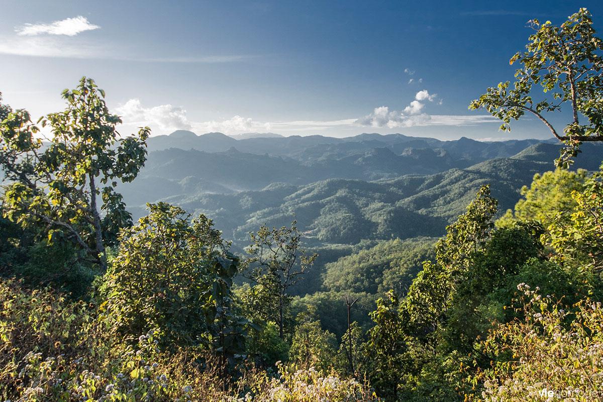 Frontière entre la Birmanie et la Thaïlande