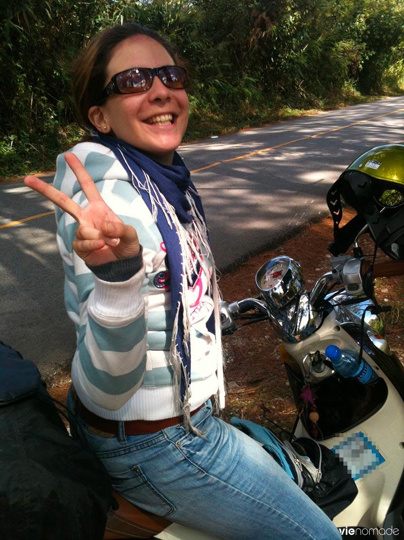 En scooter à travers la Thaïlande