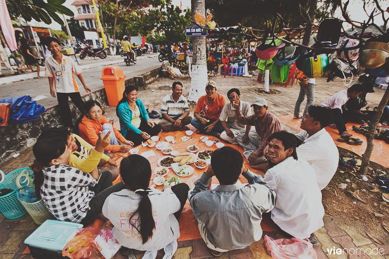 Plage de Ha Tien, Vietnam