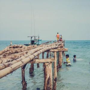 Sur la plage interdite de l'île de Phu Quoc au Vietnam (un peu malgré moi)