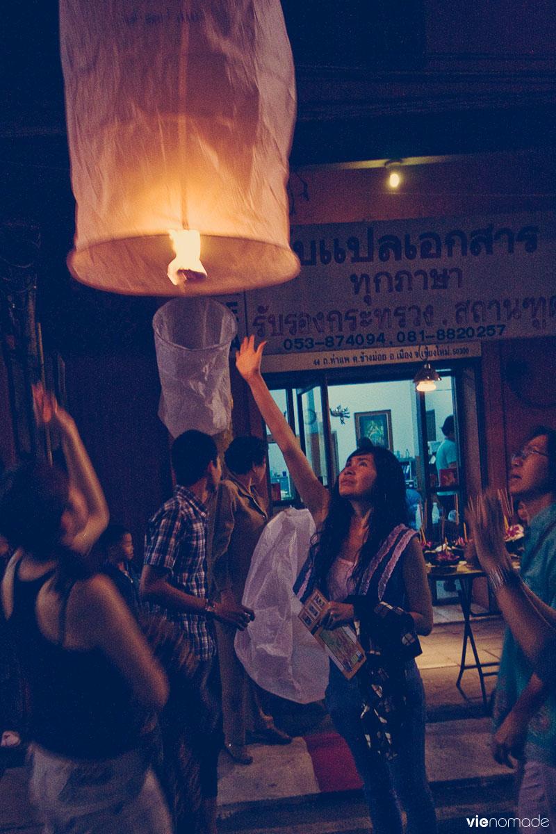 Loy krathong, Thaïlande