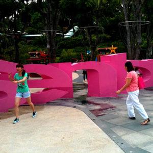 Sentosa à Singapour