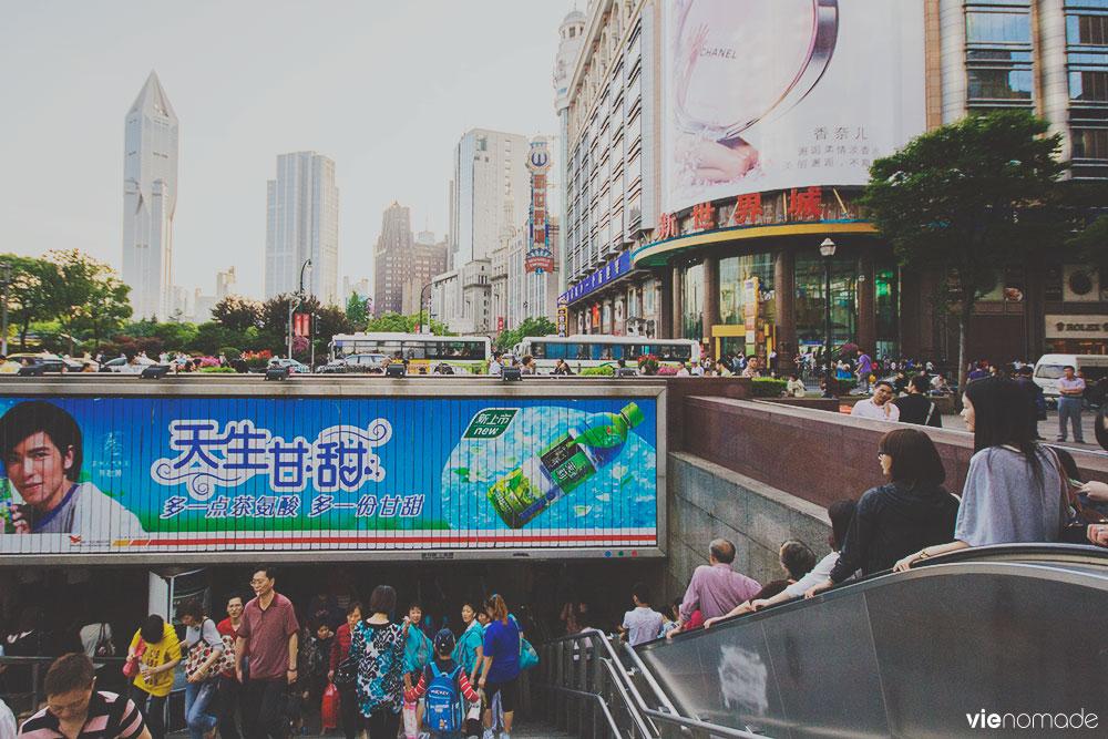 Découvrir Shanghai