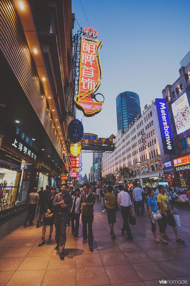 Nanjing à Shanghai