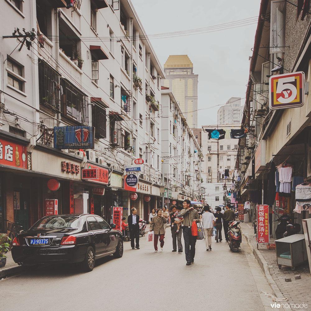 Voyage à Shanghai