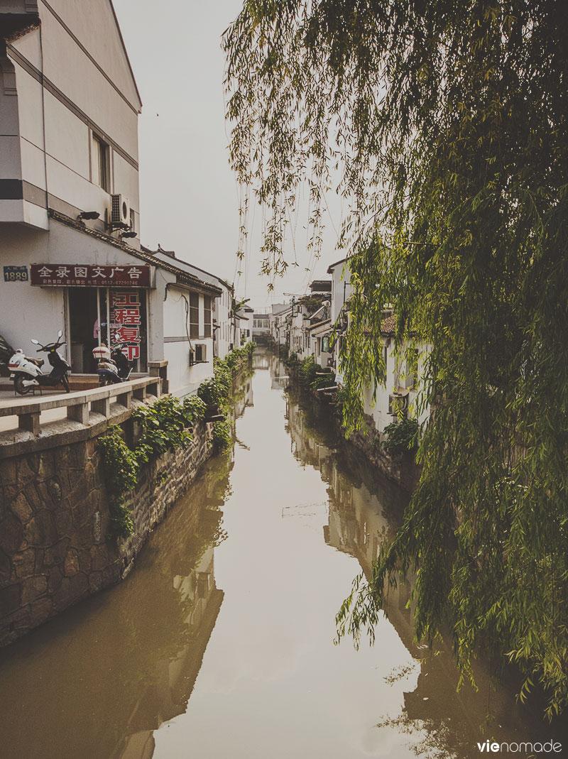 Canal de Suzhou, Chine