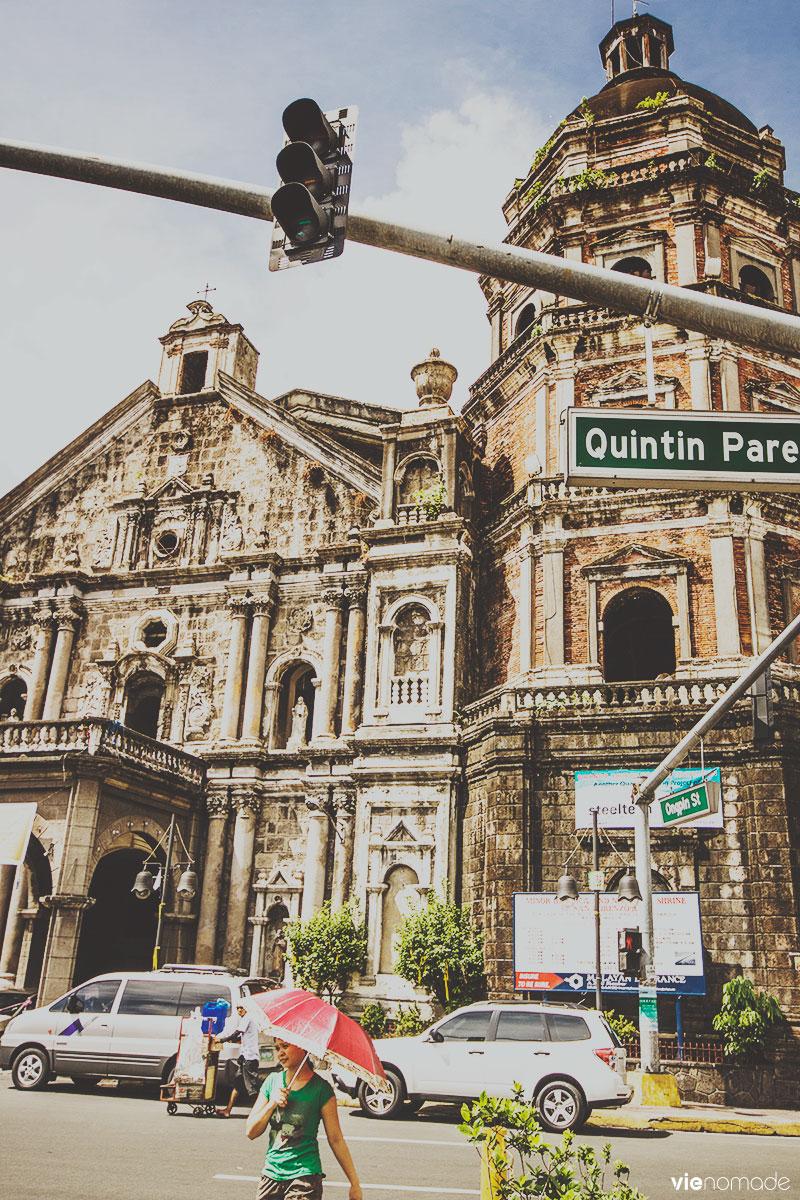 L'église de Binondo, quartier chinois de Manille