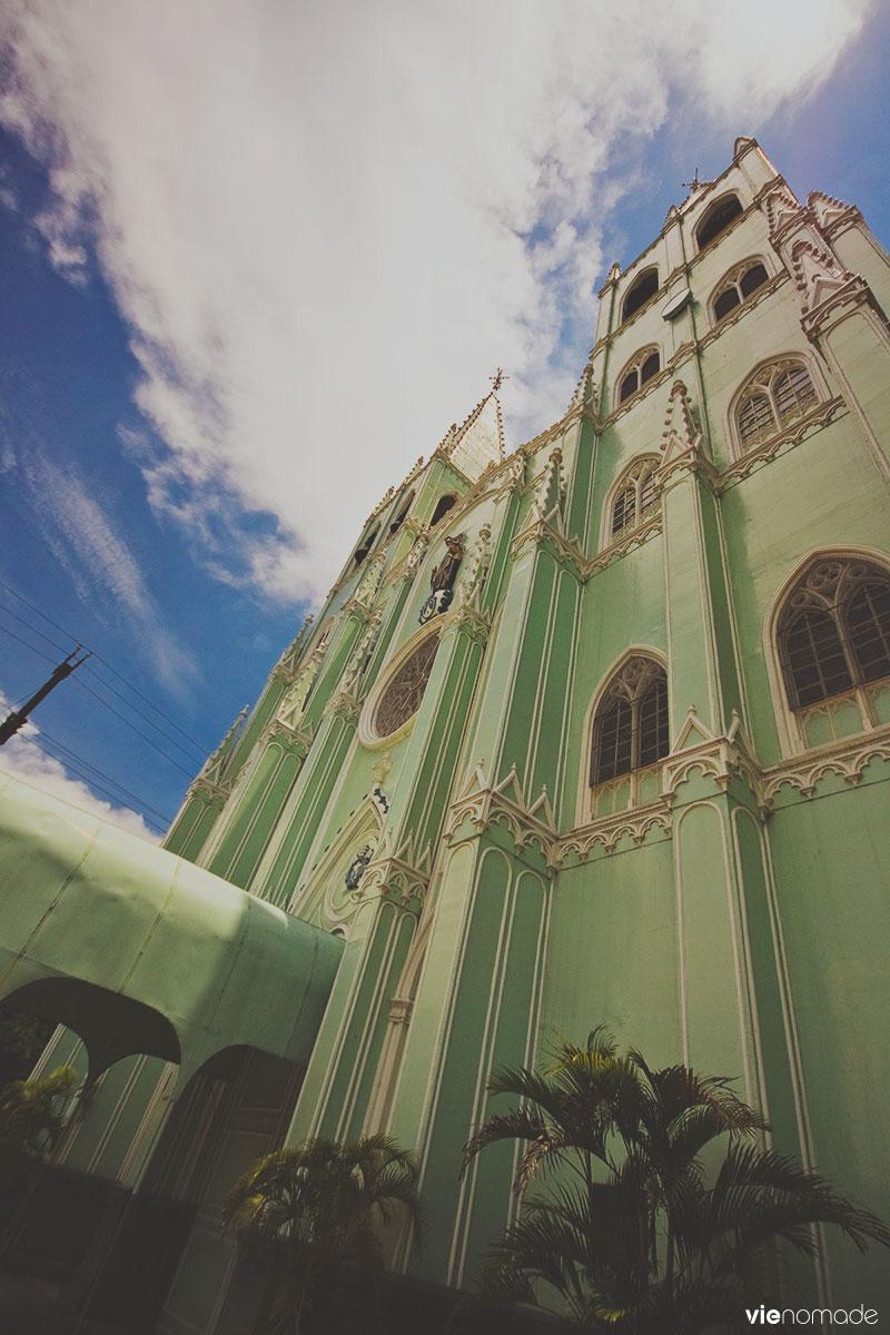 Basilique Saint Sébastien en acier, Manille