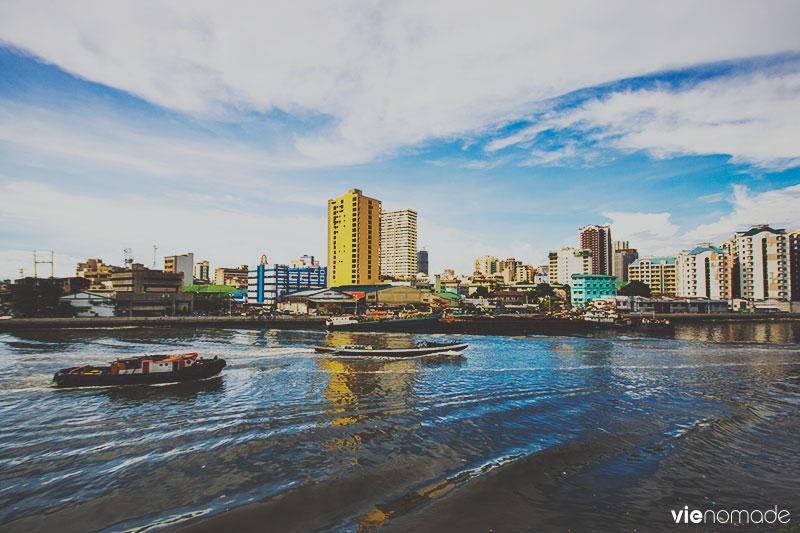 Manille vue du Fort Santiago