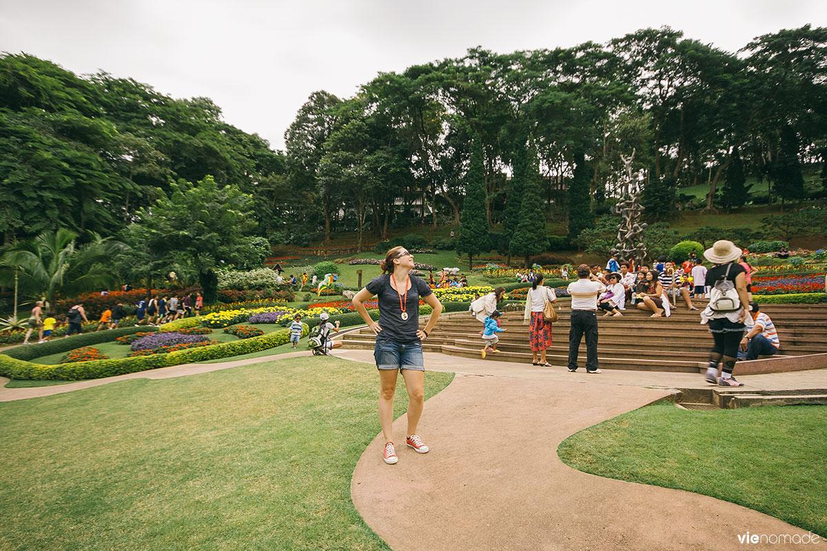 Jardins de la Reine à Doi Tung