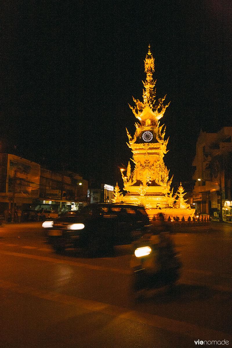 L'horloge de Chiang Rai
