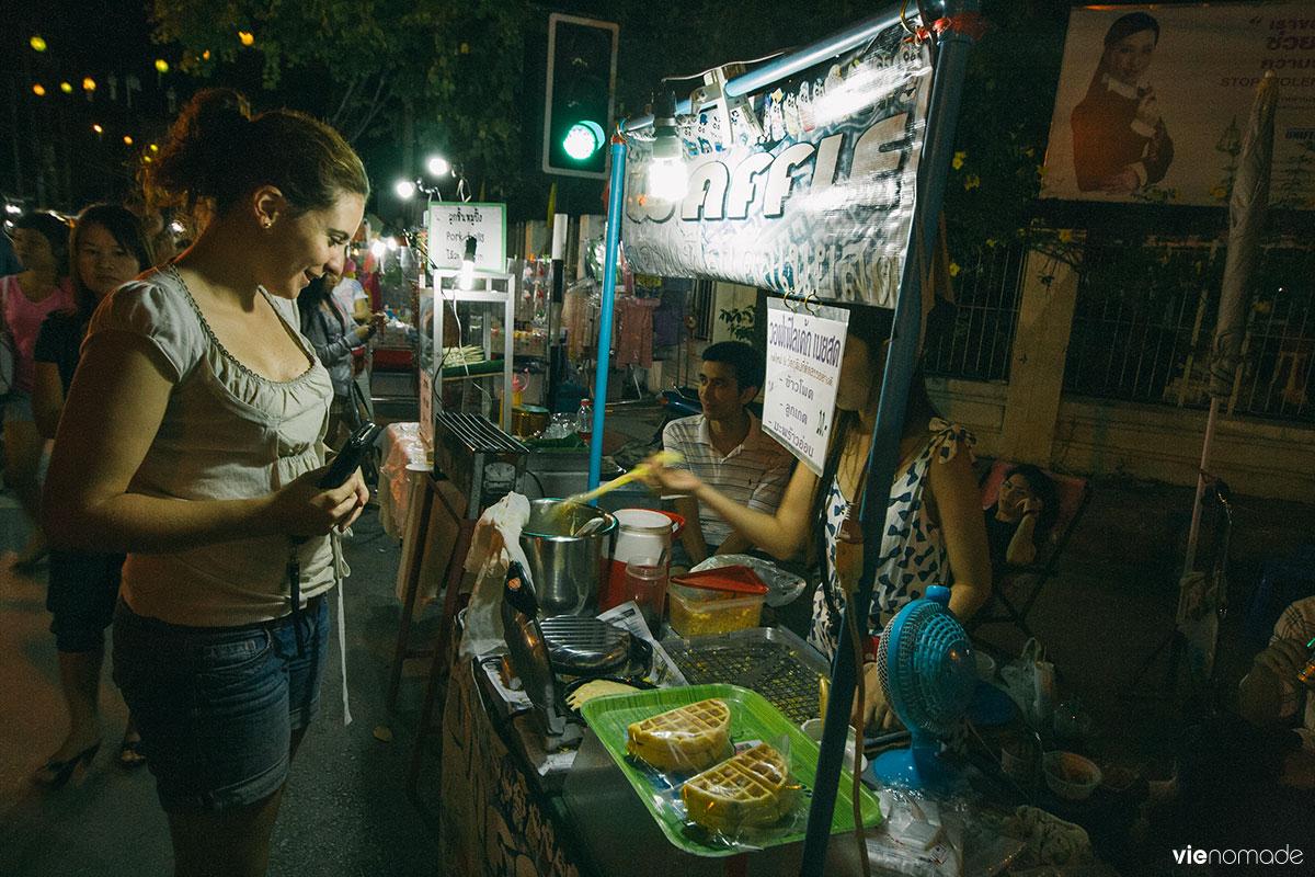 Marché de nuit de Chiang Rai