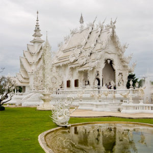 Temple Blanc de Chiang Rai - Wat Rong Khun