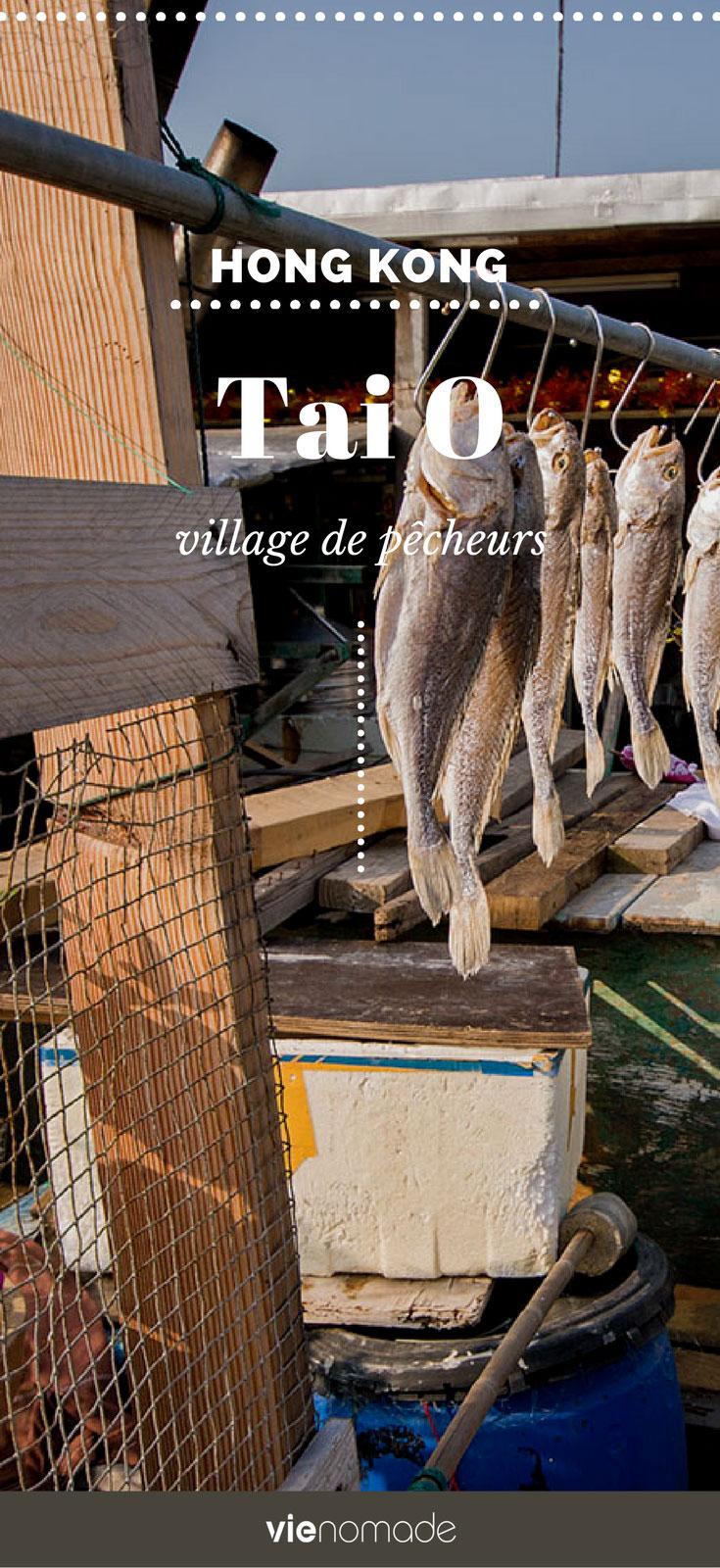 Hong Kong: découvrir Tai O, un village de pêcheurs
