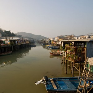Tai O, village de pêcheurs à Hong Kong
