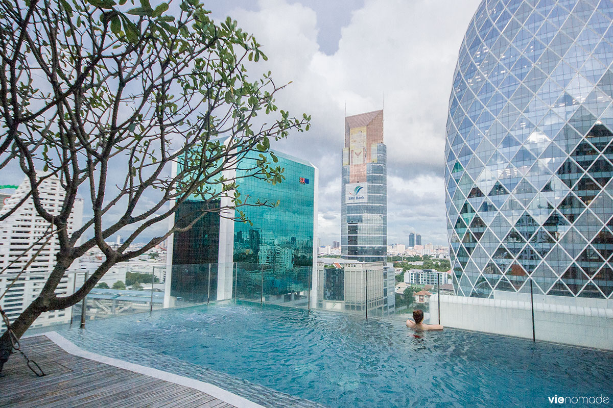 O dormir bangkok les meilleurs h tels et guesthouses - Hotel bangkok piscina ...