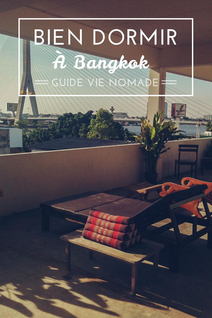 Dormir pas cher à Bangkok