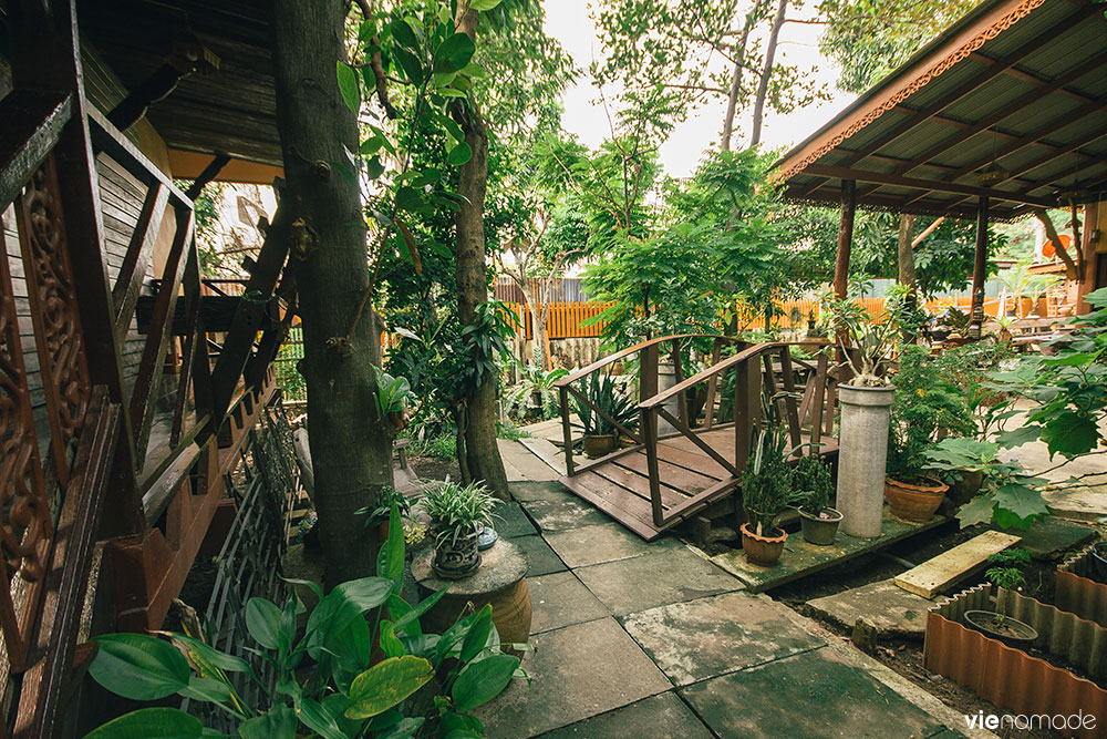 Fahsai Antique Homestay à Yan Nawa, Bangkok