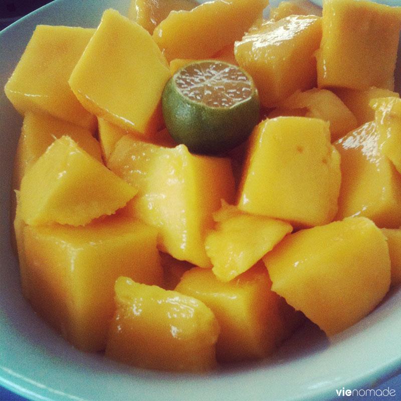 Manger à Boracay