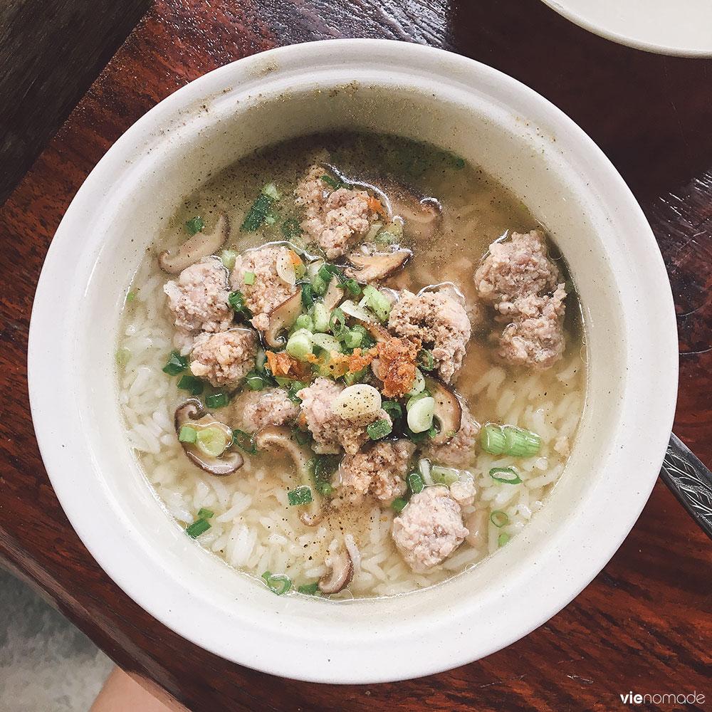 Petit-déjeuner en maison d'hôte à bangkok