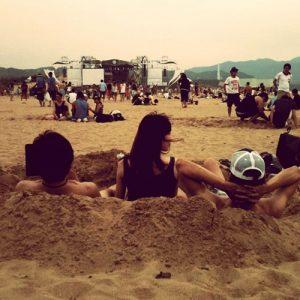 Ho Hai Yan, festival de rock à Taïwan