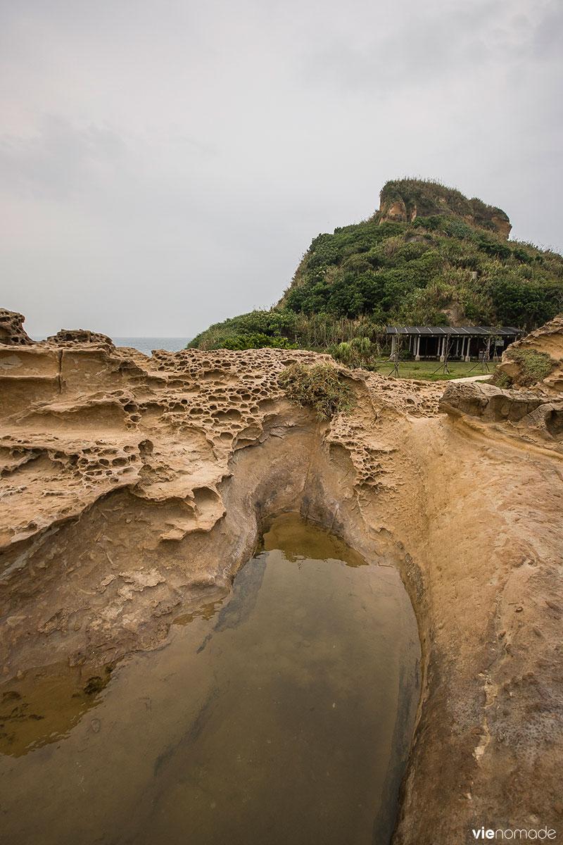 Formations rocheuses à Taïwan