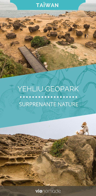 Yehliu: parc géologique à Taïwan