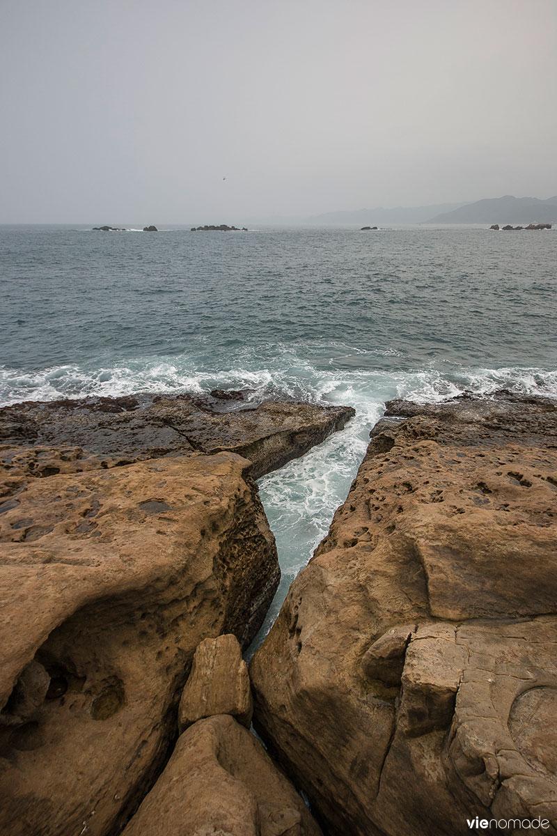 Yehliu à Taïwan