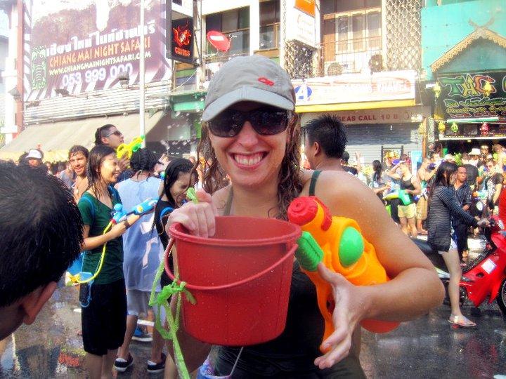 Songkran à Chiang Mai, Thaïlande